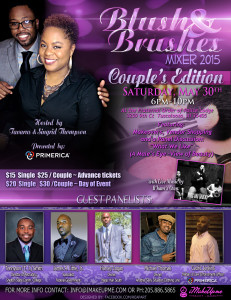 Blush and Brushes Mixer Couples Edition 2015
