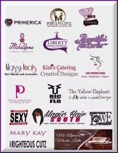Blush and Brushes Makeup Mixer 2015 Sponsors and Vendors