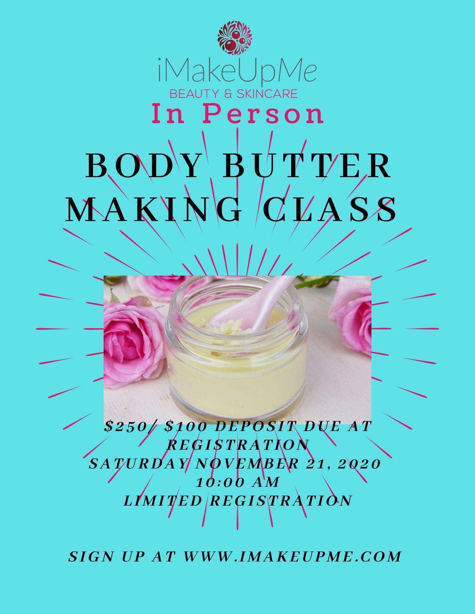 Body Butter Workshop